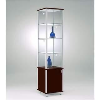 Eksklusiv - Produkthylde Saloon i Glas / Træ